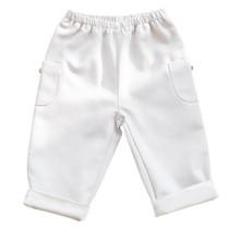 Alfred - Pique trouser - Light Grey