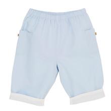 Alfred - Poplin trouser - Pale Blue