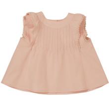 Arielle - Pintuck Top  - Pink