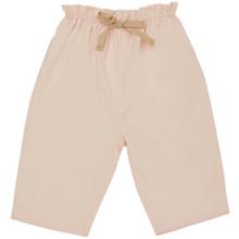 Amelia - Poplin Pull on Trouser - Pink