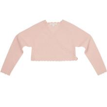 Apolline - Cashmere Ballet Cardigan - Pink
