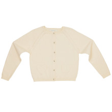 Amity - Pointelle Cardigan - Off White