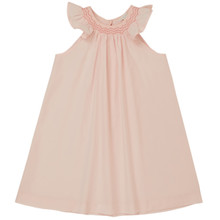 Andree - Poplin Smock Collar Dress  - Pink