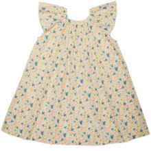 Alsatia - White Cherry Tree Print Dress