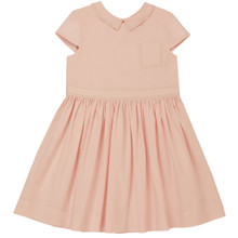 Aimee - Poplin Dress - Pink