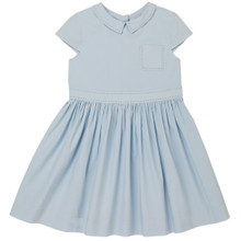 Aimee - Poplin Dress - Light Blue