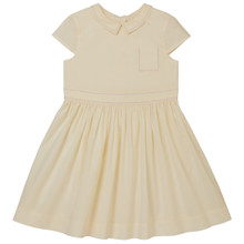 Aimee - Poplin Dress - Marshmallow