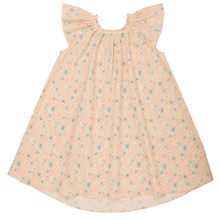Abel - Pink Cherry Tree Print Dress - Pink Cherry Tree