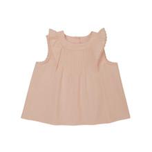 Antoinette - Poplin Pintuck Top - Pink