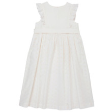 Arleta - Long Apron Dress - White