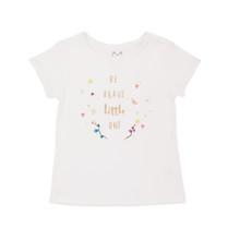 Aurelia - Printed Tee - White