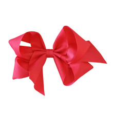Large Heritage Bow - Bright Pink