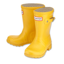 HUNTER ORIGINAL WELLINGTON BOOTS - YELLOW