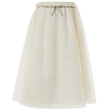 BAILEY - STAR TUTU SKIRT - CREAM
