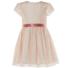 BETA - DOT TULLE DRESS - PINK