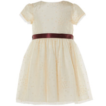 BETA - STAR TULLE DRESS - CREAM