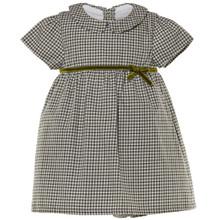 BAY - CHECK DRESS - GREEN