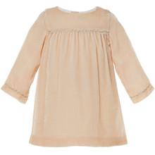BRYD - VELVET DRESS - PALE PINK