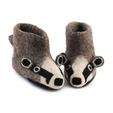 Slippers Billy Badger - GREY