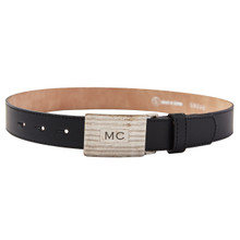 TB LEATHER BELT MC BUCKLE