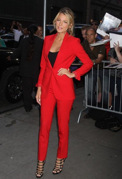 Top Women Celebrity Suit Styles Joe Button