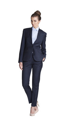 THE NAVY PANT SUIT