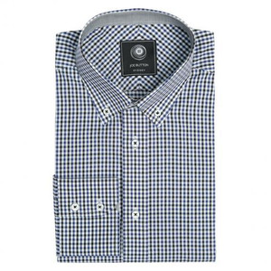 THE PREMIUM BLUE CHECK SHIRT (WOMEN)