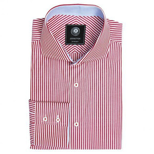 THE RED STRIPE SHIRT (WOMEN)