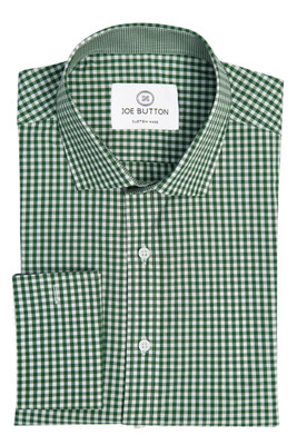 Brooklyn Olive Green Small Gingham