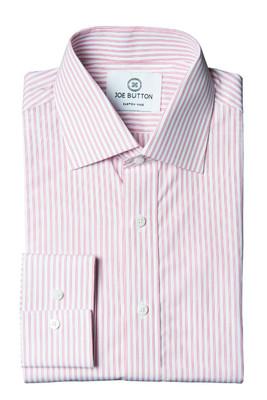 Knox Pink Stripe Poplin