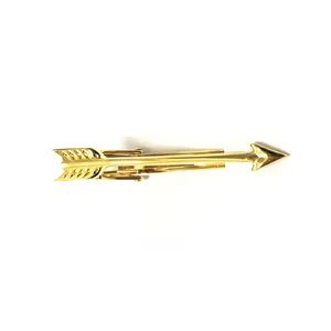 Gold Arrow Tie Bar