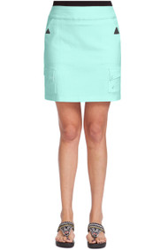 "71347 - Mermaid with Silver Trims Skort - 18"" SKINNYLISCIOUS"