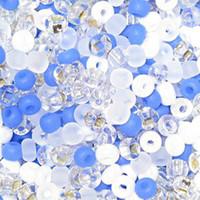 Czech Seed Beads Winter Wonderland Mix 11/0  (1 Hank)