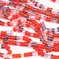 Czech Seed Beads 6/0 MelonBerry Mix (Half Hank)