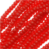 Czech Seed Beads True Red Opaque 11/0  (1 Hank)