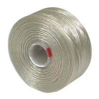 S-Lon Beading Thread Size D - Dark Cream
