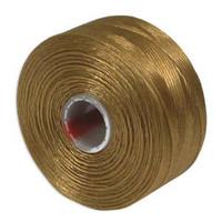 S-Lon Beading Thread Size D - Gold