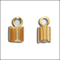 14Kt Gold Filled Foldover Cord Ends For Leather Large Size (2)