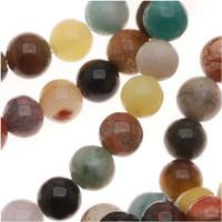 Natural Gemstone Loose Bead Mix Round Beads 4mm (100pcs)