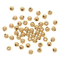 14k Gold Filled Little Round Beads 2mm (50)