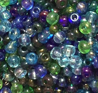 Czech Seed Beads 6/0 Atlantis Lagoon Mix (1 ounce)