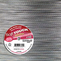 Soft Flex  Soft Touch Best Beading Wire Steel Fine .014 Inch 30 Feet