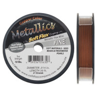 Soft Flex Metallics Wire Copper Heavy .014 Inch 30 Feet