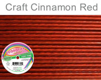 "Soft Flex Econoflex Beading Wire 010"" 30 Ft  Cinnamon Red"