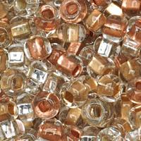 Czech Seed Beads 6/0 Metallic Foil Lined Mix (1 ounce)