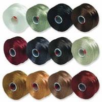 S-Lon Beading Thread Mixture 12 Colors Size D - Neutrals Mix