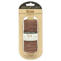 1mm Hemp Twine Bead Cord 20lb test Brown