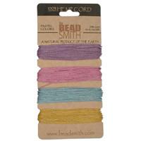 1mm Hemp Twine Bead Cord 20lb test Pastel Shades