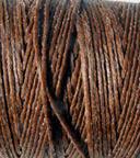 Waxed Irish Linen - 2 ply - Walnut Brown (10 yds)