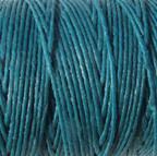 Waxed Irish Linen - 2 ply - Teal (10 yds)